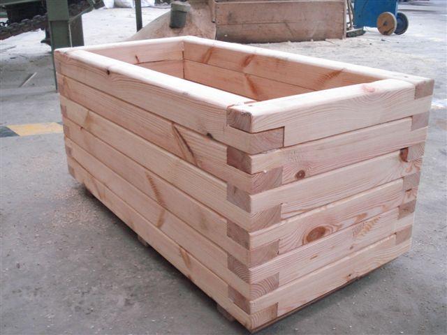 Otros trabajos en madera 1 mobiliario de madera - Jardineras de madera grandes ...