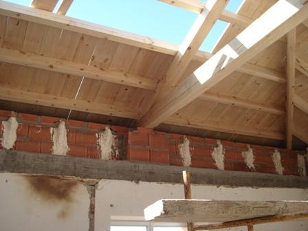 Rehabilitacion casa consistorial soto y amio 1 cubiertas - Estructura de madera para cubierta ...